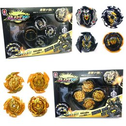 beyblade toys sale Canada - Original Box Beyblade Burst For Sale Metal Fusion 4d With Launcher And Arena Spinning Top Set Kids Game Toys bbyKzT bde_luck