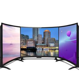 Toptan satış 55 inç Kavisli TV Ekran HD 4K Televizyon Akıllı LED TV Kavisli 55 Gönderime Hazır Instock