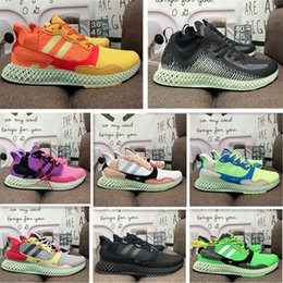y3 shoes mesh Australia - 2021 Solar Red Miami Sense Runner 1.0 Men Women ZX 4000 Futurecraft alphaedge y3 Run Shoes Trainers Men ZX4000 Carbon Sports Sneakers