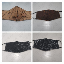 Взрослый моющаяся маска для лица защитная крышка для лица дизайн ультрафиолетостой пылью на Распродаже