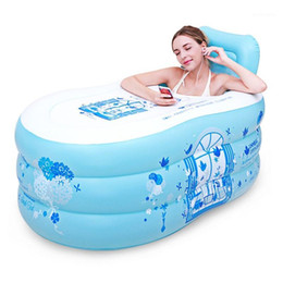 Adult Inflatable Bath Tank Single Household Adults Fold And Thicken Whole Body Large1 on Sale