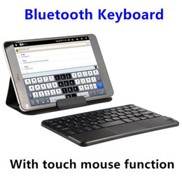 "android touch pad tablet pc UK - Bluetooth Keyboard For CHUWI Hi8 Plus Vi8 Pro Tablet PC For Chuwi Hi8 Air VI8 8""Wireless keyboard Android Windows Touch Pad Case1"
