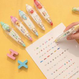 Toptan satış Karikatür Çiçek Sticker Bant Kalem Komik Çocuklar Kırtasiye Dizüstü Günlüğü Dekorasyon Bantlar Çocuklar Için Etiket Sticker Kağıt Dekor Oyuncak