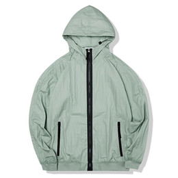 Wholesale topstoney konng gonng spring and summer thin jacket fashion brand coat outdoor sun proof windbreaker Sunscreen clothing Waterproof