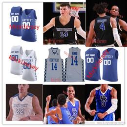 NCAA Kentucky Wildcats Ashton Hagans Basketball Jersey Tyrese Maxey Kahlil Whitney Nick Richards Immanuel Quickley Johnny Juzang Brennan Can