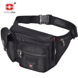 multifunctional male waist bag UK - Multifunctional Unisex Waist Pack Casual Fanny Pack Men Belt Bag Phone Pouch Bags Women Black More Pockets Small Waist Bag Male 201119