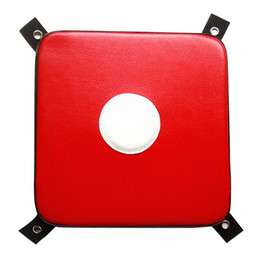 Wholesale sport karate for sale - Group buy Solid Karate Striking Sports Portable Wall Punch Pad Bag Boxing Home Fighting Square Imitation Leather Fitness Wear Resistant Nwgjs