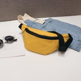 fanny pack baby NZ - Summer Chest Girls Black Women Bag Belt Bags Waist Kids Fanny Pack Packs Red Yellow Baby Girl Casual Waist Bag For Solid Mredb