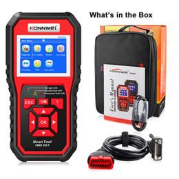 Wholesale 2021 KONNWEI KW850 Full Function OBD2 ODB2 Scanner OBDII Diagnostic Scanner Car Diagnosis Scanner Universal OBD Engine Code Reader