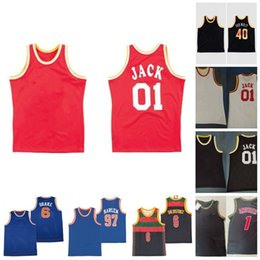 camisa western  al por mayor-X BR X MN Informe Todos Michael Over Eastern Western T shirt Basketball Jersey