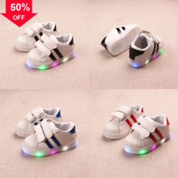 Wholesale shoes children shining for sale - Group buy ENWAYEL sport shoes led for shoe sneakers kids boys led light girls las bebe toddler baby children shoes with light luminous shining glowing