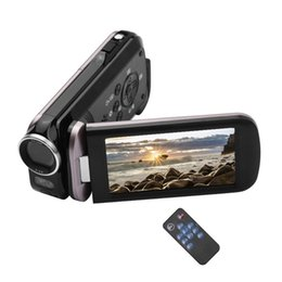 2.7K Ultra HD Mini Digital Video Camera DV Camcorder 48MP 3 Inch Rotatable LCD Touchscreen 18X Zoom Built-in LED Fill-in Light on Sale