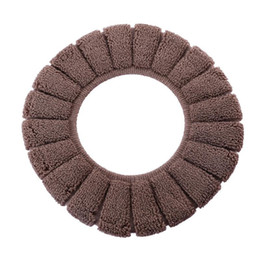 heated toilet seats Australia - New Winter Comfortable Soft Heated Washable Toilet Seat Cushion Set Bathroom Accessories Interior Decoration Household Toilet Cushion