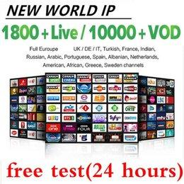Den senaste europeiska IPTV M3U stöder Smart TV, Android och iPhone, som kan användas i Spanien, Tyskland, Frankrike, Australien USA etc