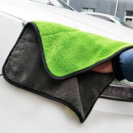 30 * 40 см. Уход за автомобилем Полировка мытья полотенца плюшевые микрофибры стиральные сушки полотенце сильные толстые плюшевые полиэфирные волокна очистки CLO 2 N2 на Распродаже