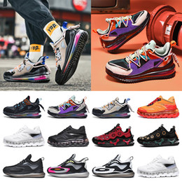 cushioned basketball shoes 2021 - New wholesale fashion mens sneakers running shoes Full palm cushion shock absorption purple black blue red grey split trainers size 40-45