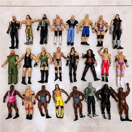 hot puppets NZ - 2020 Hot style Christmas gift Wrestlers dozens of style gladiator multi-joint can be moving pugilist boxing champion wrestler warrior