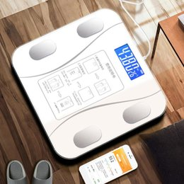 Wholesale Bluetooth Body Fat Scale Floor Scale Smart Bathroom Weight Body Composition Analyzer Connect Smartphone Apps Via