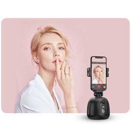 Wholesale tracking cell phones resale online - Portable smart shooting auto face AI authomatic apai genie rotation object tracking cell mobile phone holder