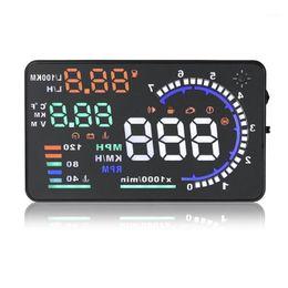 LED Screen Driving Windscreen Car Accessories OBD HUD Digital Fuel Warning ABS Diagnostic Tool Head Up Display1 on Sale