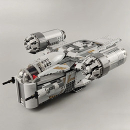 Опт В наличии 60017 1023 шт. Строитель Creator Planet серии Brazor Crest Building Blocks Blicks Toys Compartible 75292