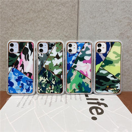 Wholesale cover iphone army resale online - Army Green Camouflage Case For iPhone Pro Max XS S Plus X XR XS Max SE Soft TPU Silicone Phone Cases Cover