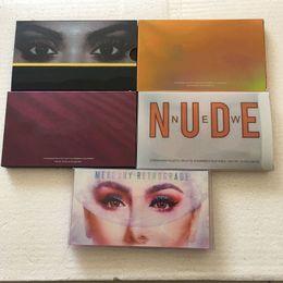 venda por atacado Rose Gold Maquiagem Paleta Cosméticos Pemasticed Syeshadow Palette Eye Maquiagem Kit Eye Cosmetics for Girl Teens 18 cor