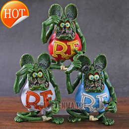 Wholesale cartoons for sale – custom Classic Famous Big Daddy Cartoon Image Rat Fink Action Figure Model Toys