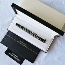 venda por atacado Pens PP Gel para Grande escritor Thomas Mann luxo escrever suavemente caneta de bola de rolos + reabastecimento de presentes + bolsa de presente