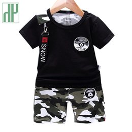 camouflage tutu Australia - Kids Clothes Summer Casual Camouflage Newborn Baby Boy Toddler Clothes Set T Shirt Tops Pants 2pcs sets Cotton Children Outfits 201126