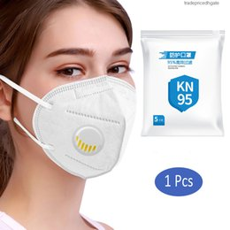 air filtration mask Canada - Masks Disposable Prevent Cotton 10pcs Filtration Kkf94 95% Air Filter Proof Face Mouth Mask Dropshipping 30kmt