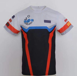 Wholesale 2021 road racing motorcycle jersey top T-shirt team version short-sleeved T-shirt sports T-shirt speed surrender