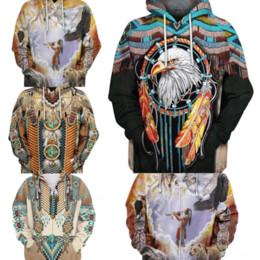 Wholesale indians clothes for sale – custom 9821 cartoon Goddess Kali II D d sweatshirt print Hindu simpsons jus hoodies printing Men Kali sweatshirt Clothing Indian God Brand hooded