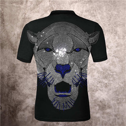 Wholesale skull hip hop clothing resale online - Funny t shirt skull men D high definition Printed Phillip Plain Street hip hop T Shirt casual Fitness tshirt men clothing Asian plus size