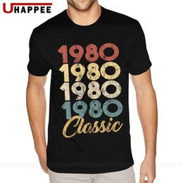 Wholesale shirts for birthday resale online - 40th Birthday Gift For Men And Women In Classic Th Birthday Party T Shirts Male Distressed Short Sleeve Tees