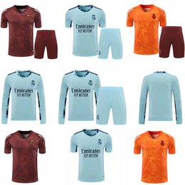 Wholesale real madrid clothes for sale – custom Real Madrid Jersey hazard Sergio Ramos Benzema Vinicius camisetta Football Jersey goalkeeper Training clothes