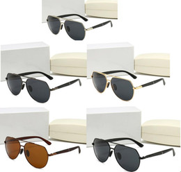 decoration fashion sunglasses eyewear for travel square oversized vintage trendy with riml metal frame on Sale