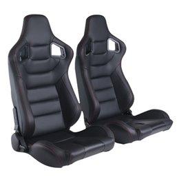 Großhandel Eimer Seat Racing Seat stilvoll einstellbarer Rennstuhl mit PVC-Abdeckung Sportstil Professionelle hochwertige SIM Populäre Sitze
