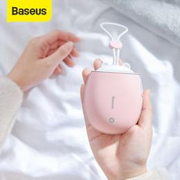 Baseus-Heizgerät wiederaufladbare Handwärmer 4000 mAh-Notstrombank LED elektrischer Handwärmer Handy elektrischer Heizer warm im Angebot