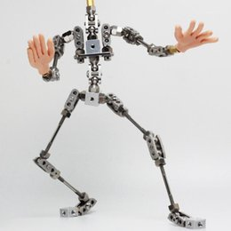 high puppets Australia - Upgraded Ready-to-assemble PMA-28 28cm high quality stainless steel animation armature puppet for Stop Motion Character1