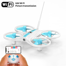Rc Drone with Camera HD FPV Mini Drone Remote Control Quadcopter Altitude hold Dron Headless Mode Helicopter for Children Toys 201221 on Sale