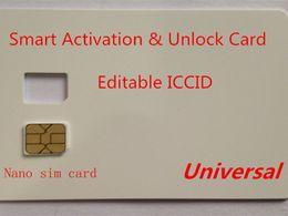 Carte SIM de DHL Smart Activation gratuit pour iPhone 6S 7 8 x XS XR 11 12 4G 5G iOS14.4 Onesim Gevey en Solde