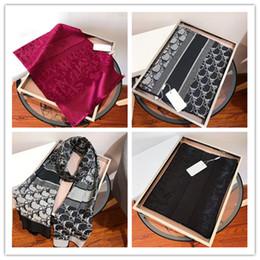 2021 scarfs for women Designer Wool silk scarf for women Hot Sale Ladies Winter shawls scarfs Pashmina fashion long ring gift Dropship on Sale