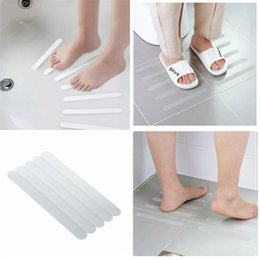 Anti Slip Tape Five Pieces Clothing Shower Room Stairs Steps Bathtub Adhesive Tape Transparent Antiskid Strip Hot Selling 2 5jd P1 on Sale