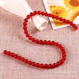 red carnelian jewelry 2021 - 1strand Lot 4 6 8 10 12 Mm Red Carnelian Agates Round Gem Beads Carnelian Loose Beads For Jewelry Making Diy Necklace H
