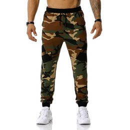 camo sweatpants 2021 - Mens Joggers Sweatpant Camo Jogging Pants Men Outdoors Climbing Casual Fashion Trousers Hip Hop Streetwear Sweatpants Male XXXL