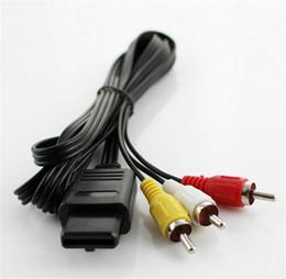 ニンテンドー64 N64用のオーディオビデオAVコンポジットケーブル