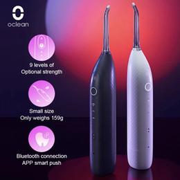 Wholesale Oclean W1 Oral Irrigator Cordless Water Flosser Teeth Cleaner Rechargable Dental Water Jet 30ml Tank Volume Portable Travel
