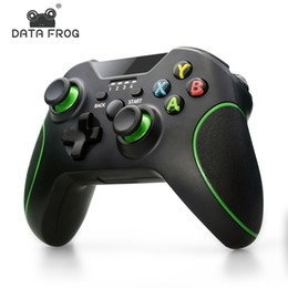 android phone game controllers 2021 - Data Frog 2.4G Wireless Gamepad For Xbox One Console Game Controller For PS3 Android Smart Phone Joystick For PC Win7 8