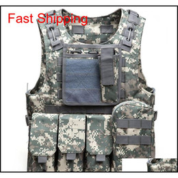 Wholesale plate carriers for sale - Group buy Tactical Vest Mens Tactical Hunting Vests Outdoor Field Airsoft Molle Combat Assault Plate Carrier Cs Outdoor Jungle Equipment Roehf
